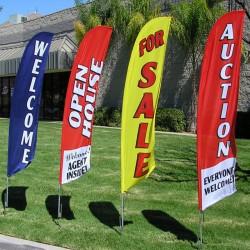 Banderas tipo surf estandar