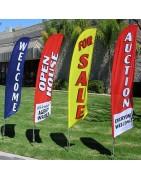 Banderas publicitarias tipo surf XLL